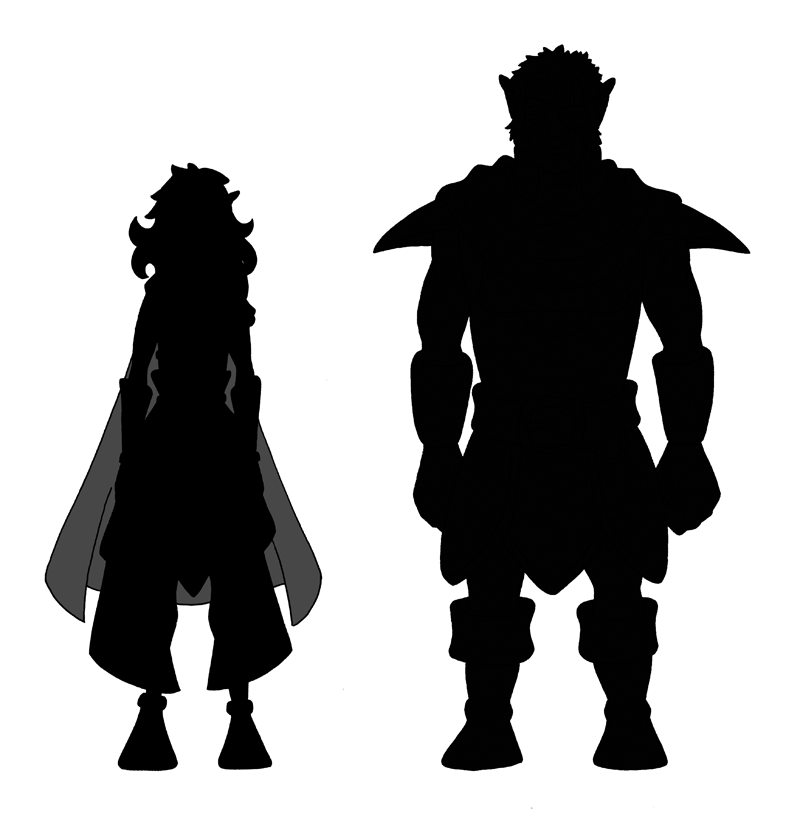 Chapter 3 Character Silhouettes